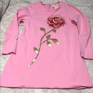 Gorgeous Kate Spade girls pink dress 4T
